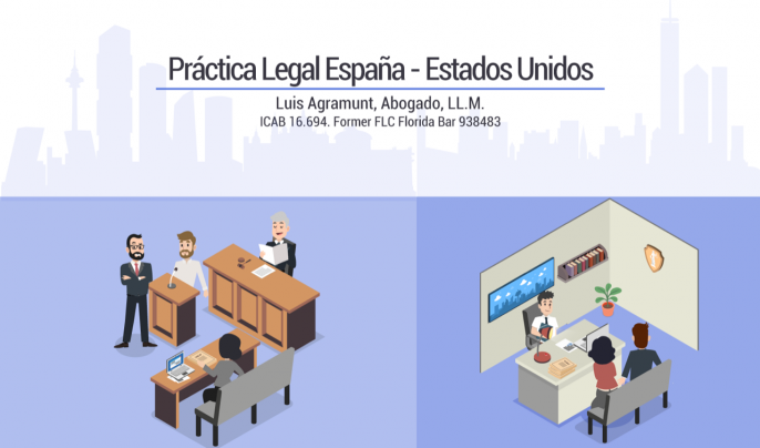 Flyer Prctica Legal Espaa - Estados Unidos